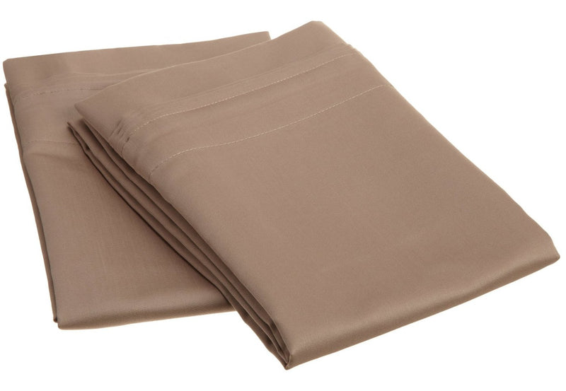 1000 Thread Count Egyptian Cotton Solid Pillowcase Set