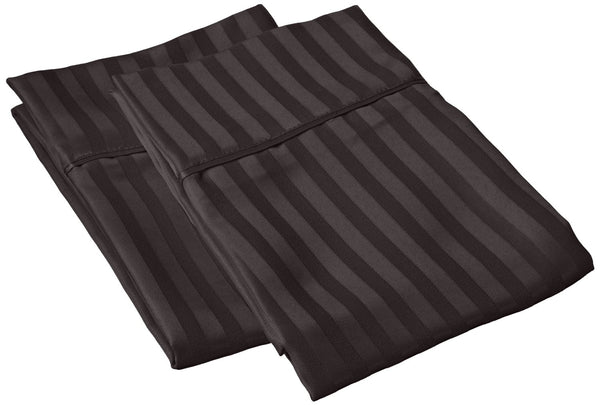 Superior 1500 Series Microfiber Stripe Pillow Cases (Pair)