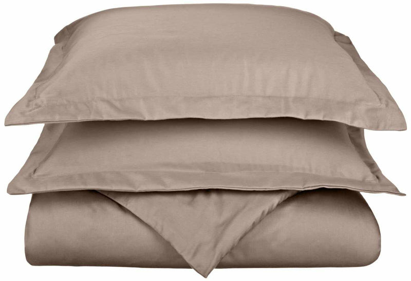 800-Thread Count Cotton-Blend Wrinkle-Resistant Soft Duvet Cover Set