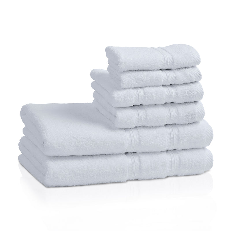 Quick Dry 6-Piece Cotton Towel Set