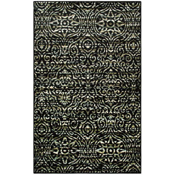 Carson Damask Area Rug Collection