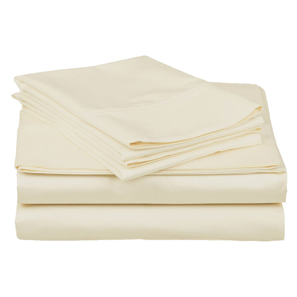 100% Egyptian Cotton Sheet Set, 400-Thread Count, Deep Pockets