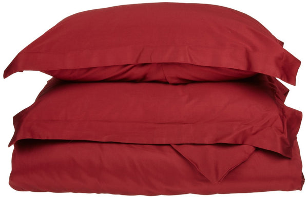 Superior 1500 Series Microfiber Solid Duvet Set