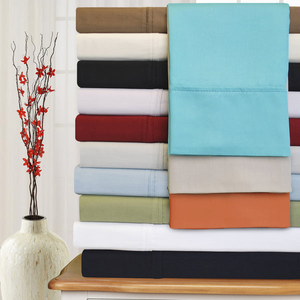 Soft Premium cotton Sheet Set With Deep Pocket, 300-Thread-Count, 19 Colors