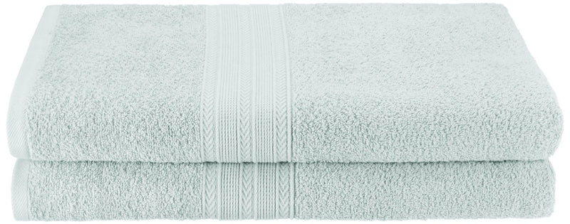Eco-Friendly 2-Piece Bath Sheet Set, 100% Ring-Spun Combed Cotton, 18 Colors