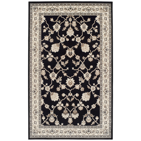 Kingfield Area Rug, Trellis, Traditional