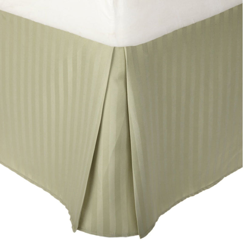 Superior 1500 Series Microfiber Stripe Bed Skirt