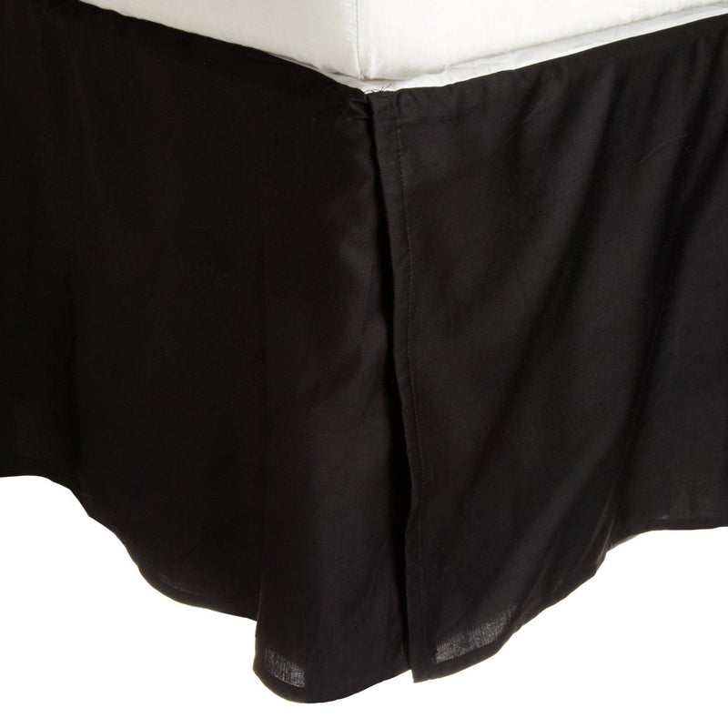 "2L Series Soft & Wrinkle Free Microfiber Bed Skirt, 15"" Drop"