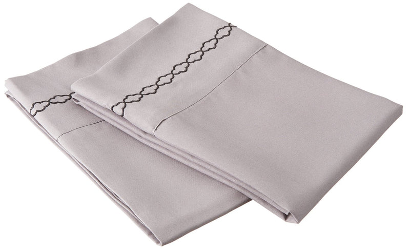 Clouds Embroidery Microfiber Pillowcases