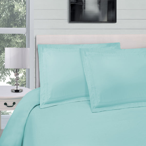 Superior Infinity Microfiber Solid Duvet Cover Set