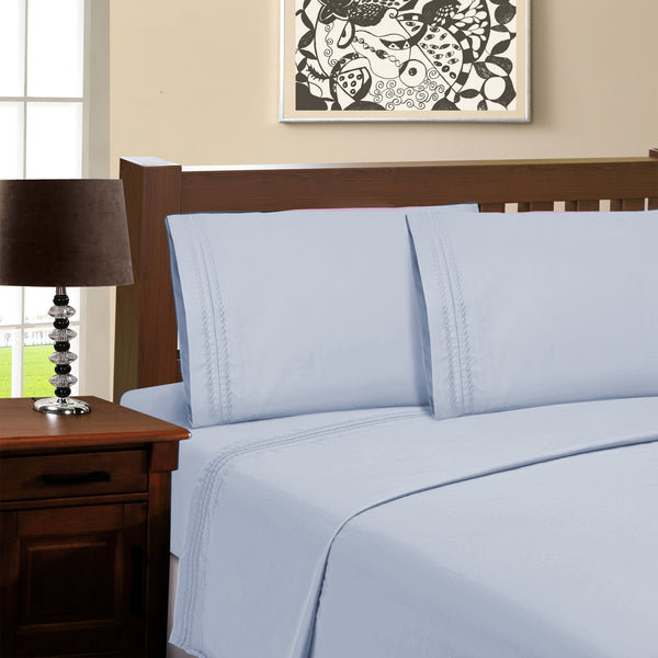 Superior Infinity Brushed Microfiber Solid Pillowcase Set