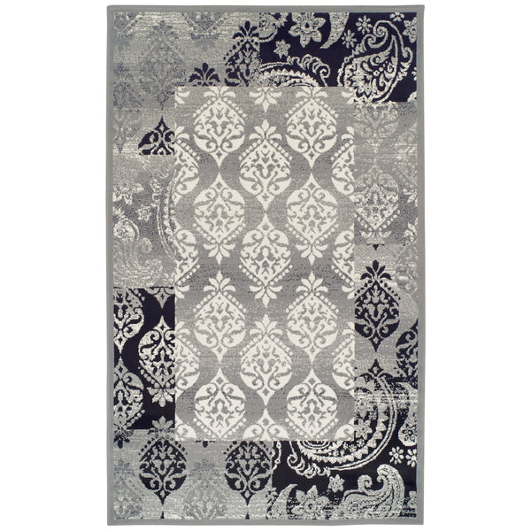 Mystique Area Rug, Oriental Pattern, Contemporary