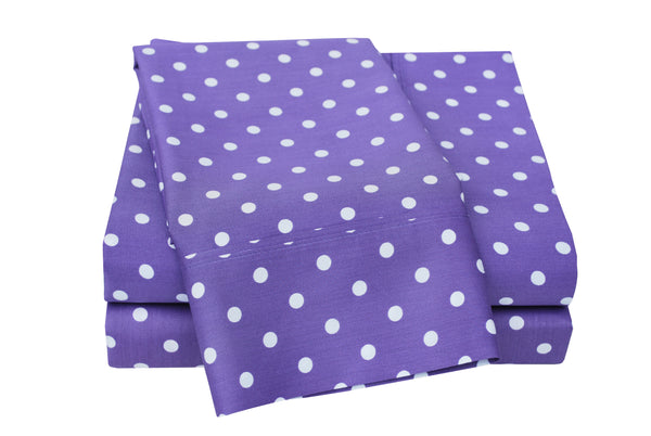 Decorative Polka Dot Sheet Set