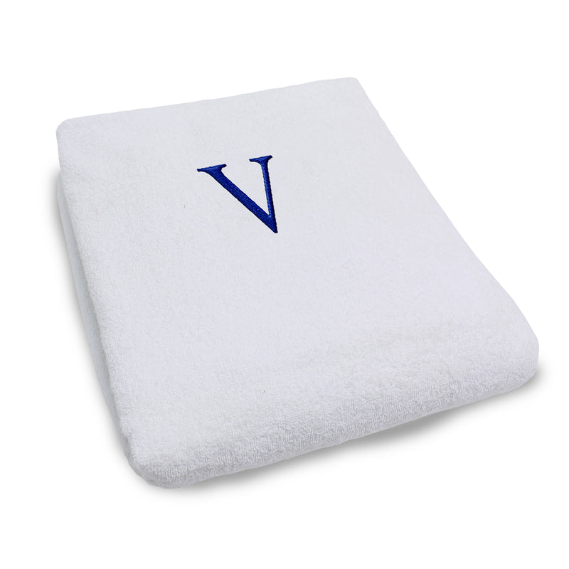 Superior Monogrammed Lounge Chair Cotton Towel Cover