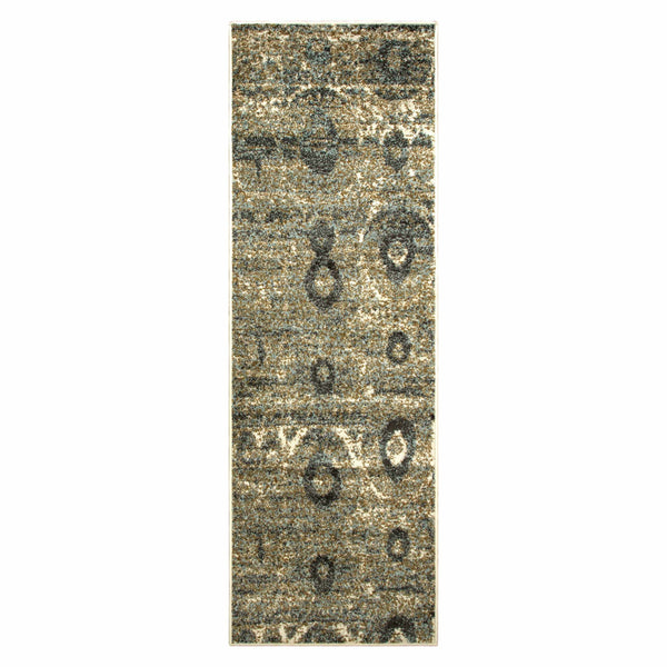 Rosemont Area Rug, Abstract, Distressed, Modern