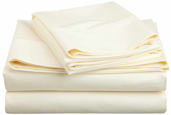 600 Thread-Count Wrinkle-Resistant Cotton-Blend Sheet Set