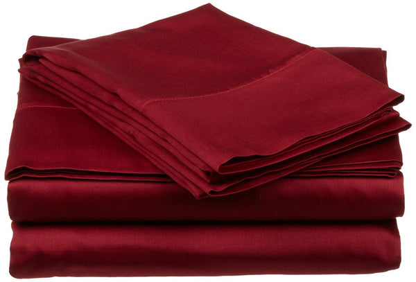 Deluxe 1000 Thread Count Egyptian Cotton Sheet Set with Sateen Finish