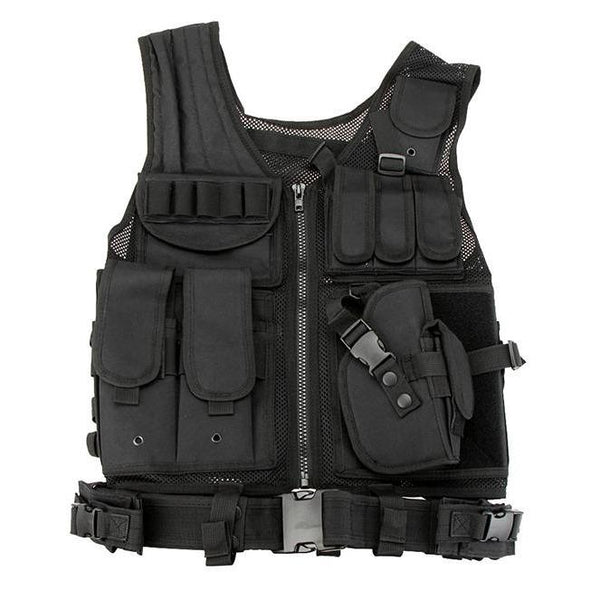 HARDWARE VEST 1.0 - Buy Techwear Fashion Clothing Scarlxrd Ha3xun Store