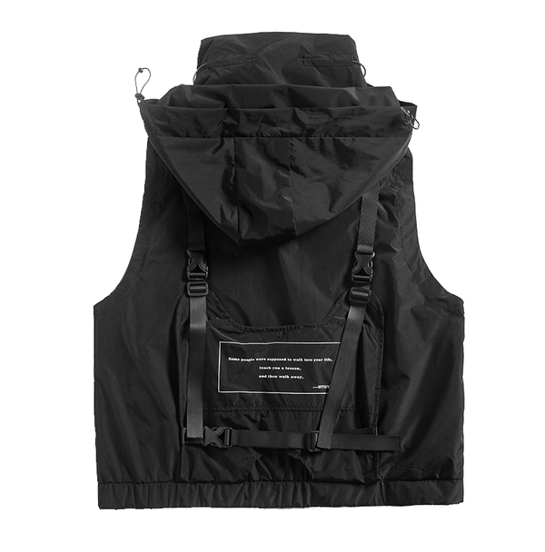 Hardware Survivxr Sleeveless Jacket - Buy Techwear Fashion Clothing Scarlxrd Ha3xun Store