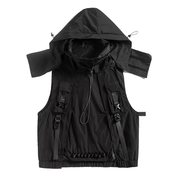Hardware Survivxr Sleeveless Jacket - TECHWEAR STORE SCARLXRD CLOTHING SHOP JACKETS PANTS VESTS HA3XUN WEAR