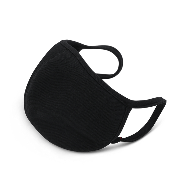 Black Mouth Mask (3-Pack)
