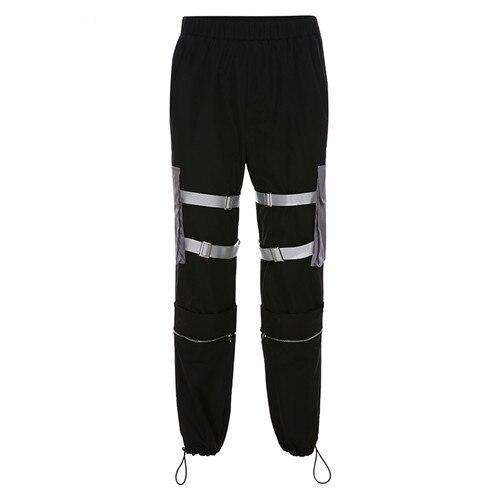 Reflective Devil Joggers - TECHWEAR STORE SCARLXRD CLOTHING SHOP JACKETS PANTS VESTS HA3XUN WEAR