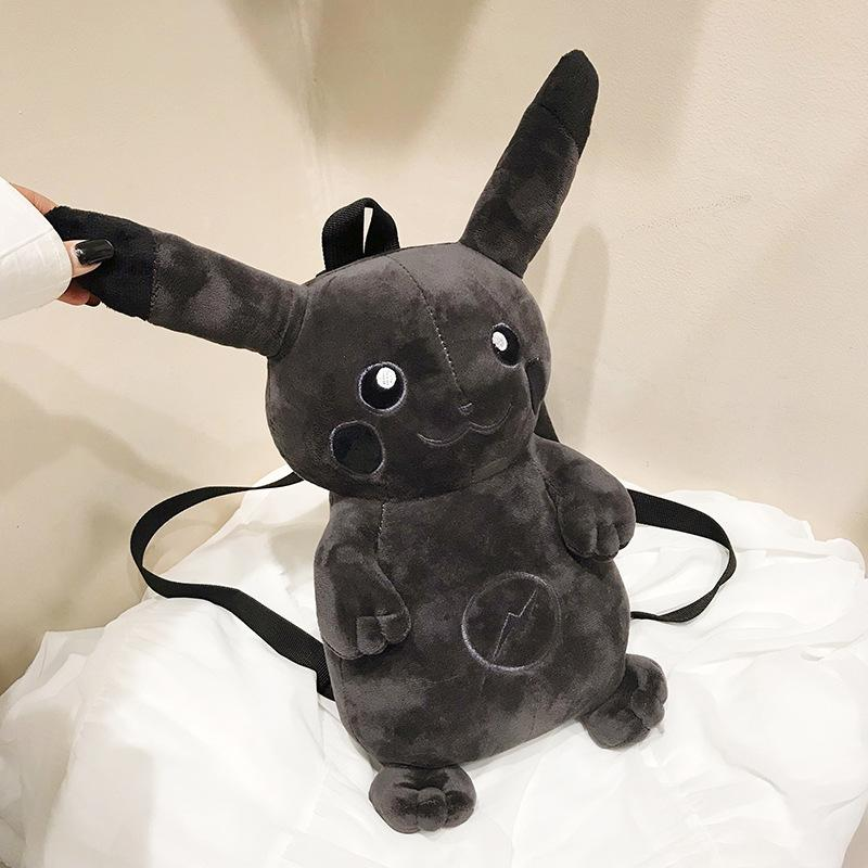 Dark Pikachu Plush Bag - HA3XUN