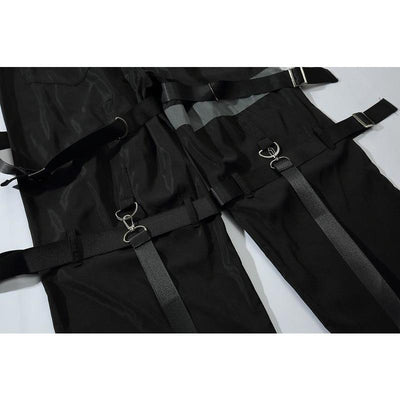 TECHWEAR SCARLXRD CLOTHING STYLE HA3XUN WEAR BACKUP JOGGERS