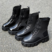 Woman Sxldier Boots - TECHWEAR STORE SCARLXRD CLOTHING SHOP JACKETS PANTS VESTS HA3XUN WEAR