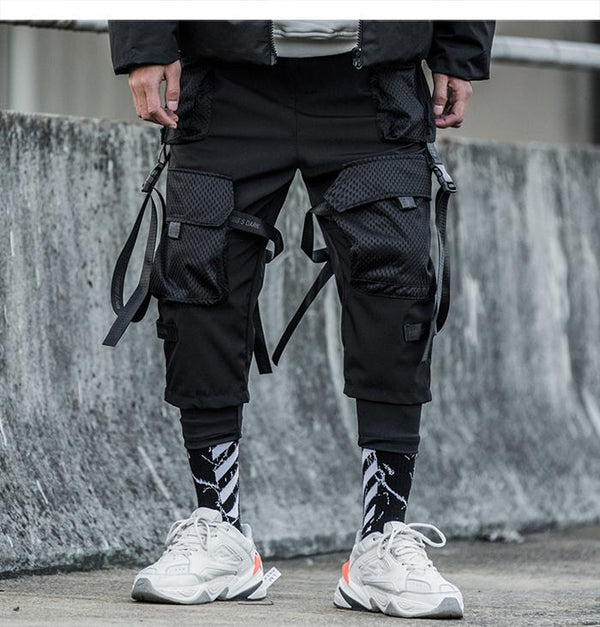 DATABASE STRAPS PANTS - Buy Techwear Fashion Clothing Scarlxrd Ha3xun Store