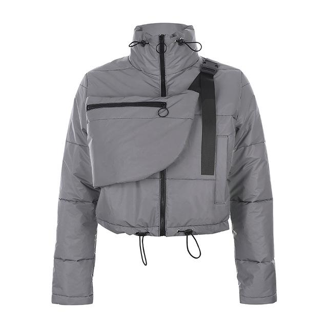 Reflective Agent Jack - TECHWEAR STORE SCARLXRD CLOTHING SHOP JACKETS PANTS VESTS HA3XUN WEAR