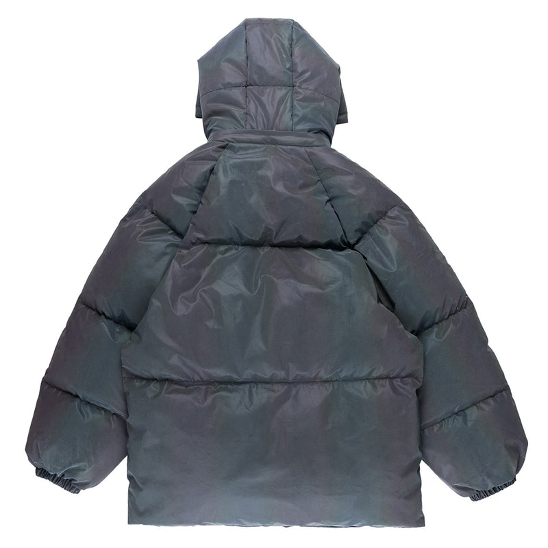 Reflective Padded Coat - buy techwear clothing fashion scarlxrd store pants hoodies face mask vests aesthetic streetwear