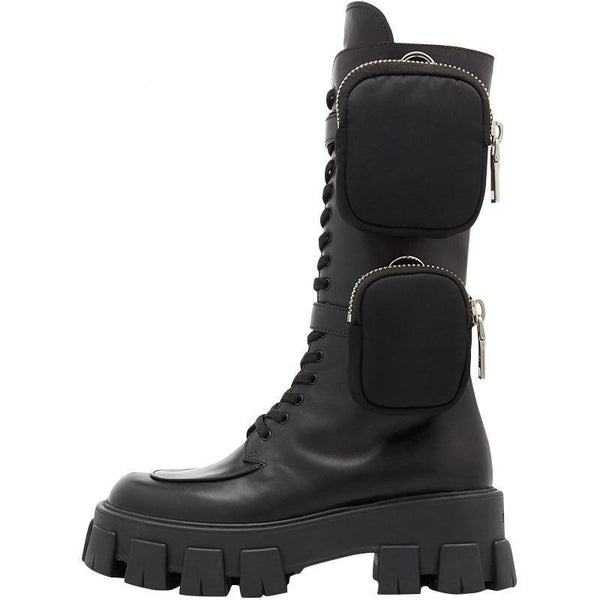 Military Boots 1.0 - Buy Techwear Fashion Clothing Scarlxrd Ha3xun Store