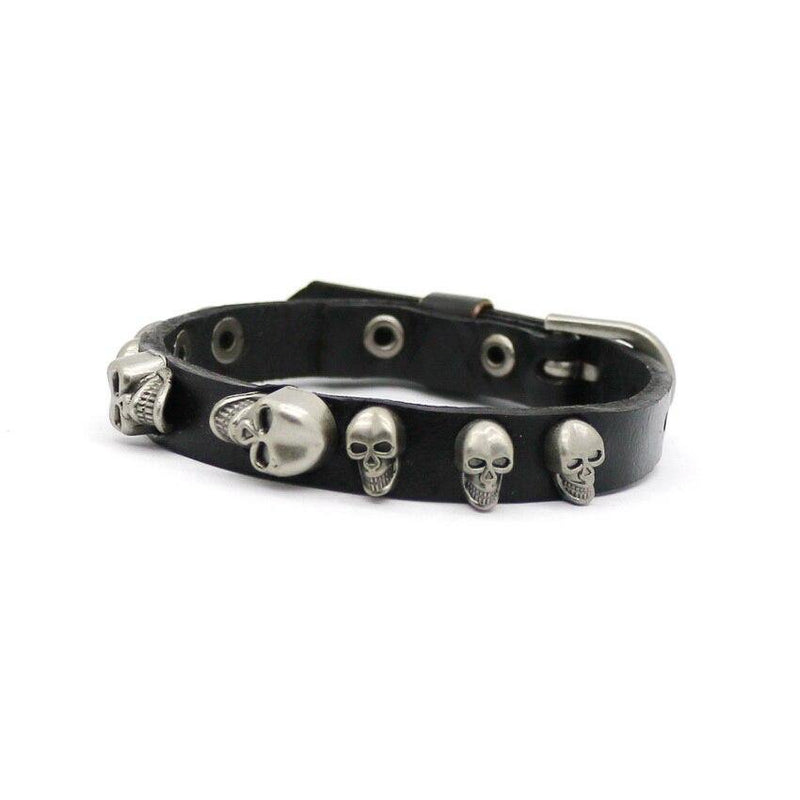 Skull Bracelet - buy techwear clothing fashion scarlxrd store pants hoodies face mask vests aesthetic streetwear