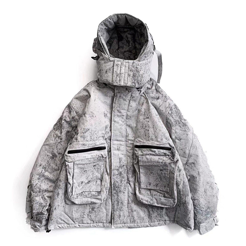 Data Breach Expert Parka Coat - buy techwear clothing fashion scarlxrd store pants hoodies face mask vests aesthetic streetwear