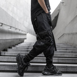 Buckles Cargo 1.0 - buy techwear clothing fashion scarlxrd store pants hoodies face mask vests aesthetic streetwear