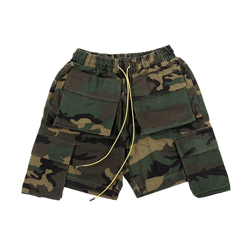 Camo Shorts 1.0 - buy techwear clothing fashion scarlxrd store pants hoodies face mask vests aesthetic streetwear