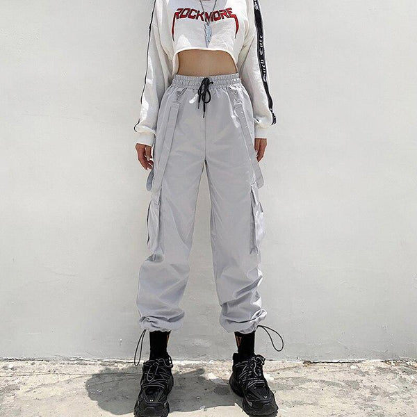 Space Girl Cargo - buy techwear clothing fashion scarlxrd store pants hoodies face mask vests aesthetic streetwear