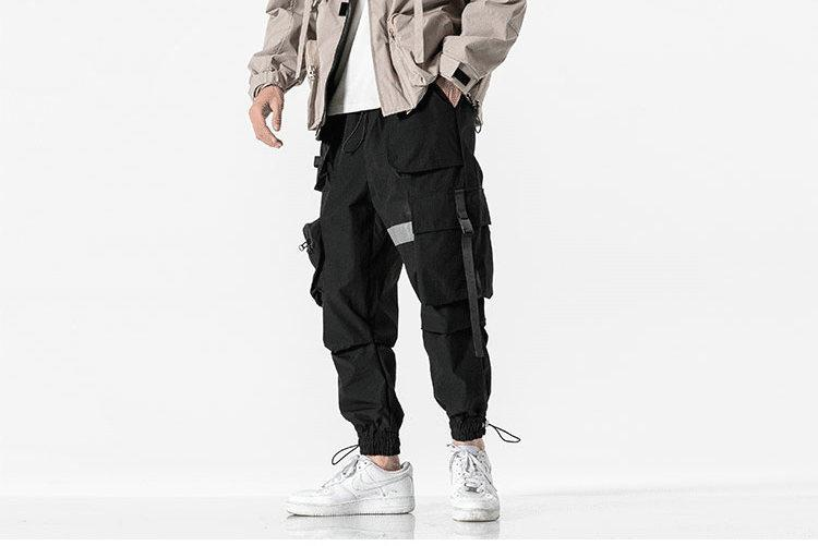 Side Pocket Joggers 2.0 - Buy Techwear Fashion Clothing Scarlxrd Ha3xun Store