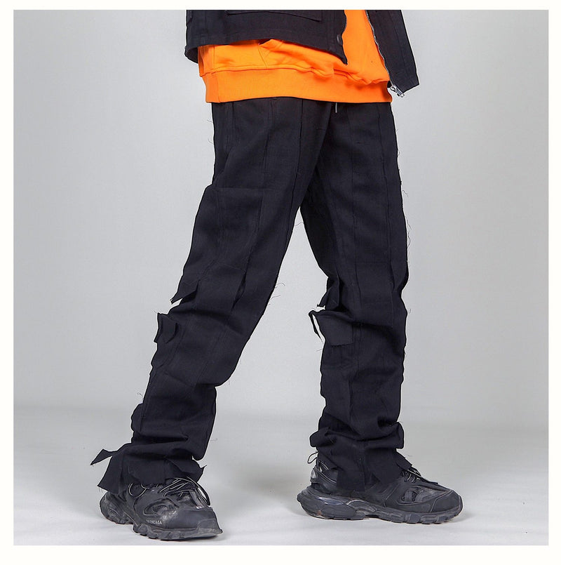 Afterlife Ripped Pants - buy techwear clothing fashion scarlxrd store pants hoodies face mask vests aesthetic streetwear