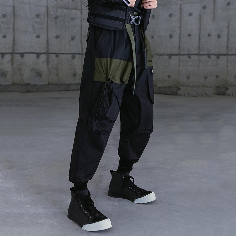 Multi Pocket Loose Cargo - Buy Techwear Fashion Clothing Scarlxrd Ha3xun Store
