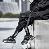 Multi Pocket Straps Cargo Pants - buy techwear clothing fashion scarlxrd store pants hoodies face mask vests aesthetic streetwear