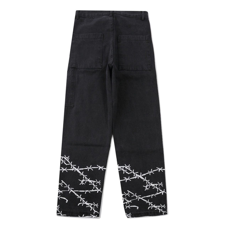 Barbed Wire Pants 1.0 - buy techwear clothing fashion scarlxrd store pants hoodies face mask vests aesthetic streetwear