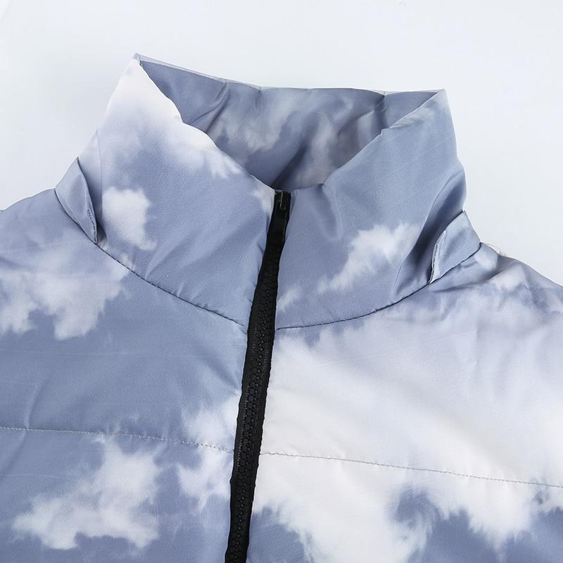Padded Clouds Coat - buy techwear clothing fashion scarlxrd store pants hoodies face mask vests aesthetic streetwear