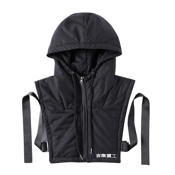 Tactical Padded Sleeveless Cargo Vest - buy techwear clothing fashion scarlxrd store pants hoodies face mask vests aesthetic streetwear
