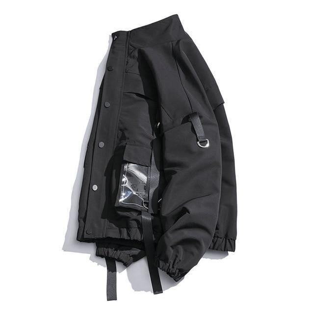 System Coat - buy techwear clothing fashion scarlxrd store pants hoodies face mask vests aesthetic streetwear