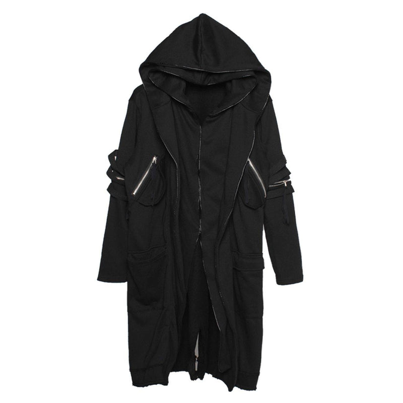 System Ninja Cape Hoodie - buy techwear clothing fashion scarlxrd store pants hoodies face mask vests aesthetic streetwear