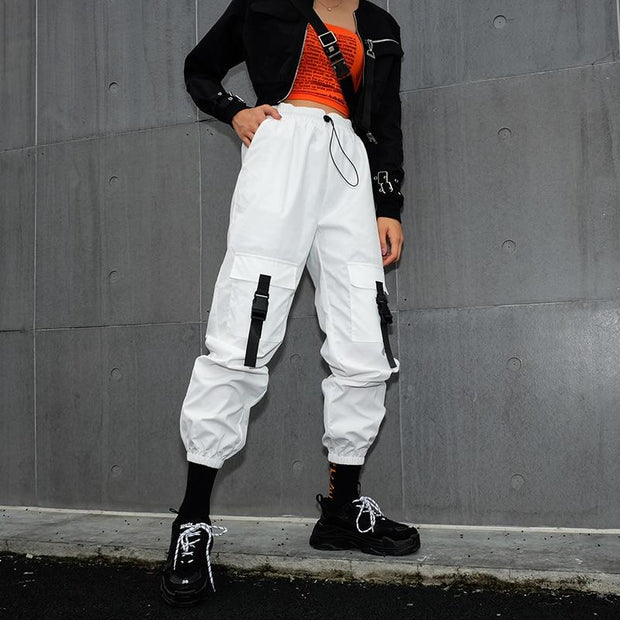 Angels Cargo Pants - TECHWEAR STORE SCARLXRD CLOTHING SHOP JACKETS PANTS VESTS HA3XUN WEAR