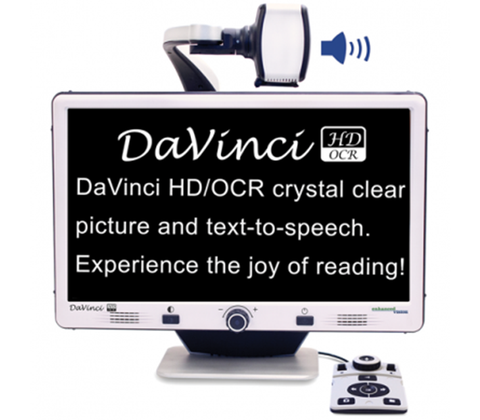 DaVinci HD/OCR All-In-One Desktop Magnifier