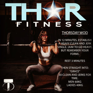 Thursday's Workout of the Day (WOD)